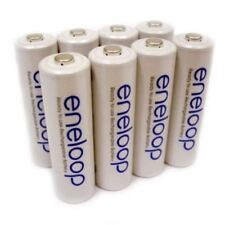 Sanyo Eneloop 8 Pack AA NiMH Pre-Charged Rechargeable Batteries