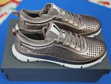 ECCO women's size 39 shoes - Intrinsic 1 - Warm Gray Metallic - New in box