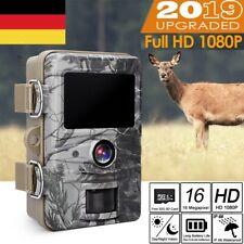 1080P Wildkamera Jagdkamera 16MP Wasserdicht IP66 Nachtsicht Überwachungskamera