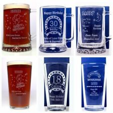 Unbranded Pint Glass Pint/Beer Glasses Collectable Pint & Beer Glasses