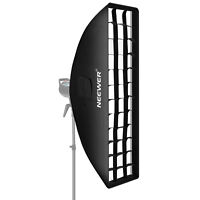 """8"""" x 36"""" Honeycomb Softbox Bowens Mount Softbox with Grid for Studio"""