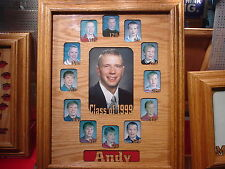 Laser Engraved Graduation Frame Mat for Class Pictures