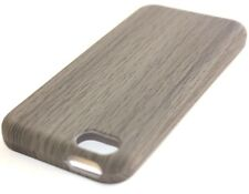 APPLE iPhone 5C - HARD PROTECTOR SNAP ON CASE DARK GREY RUBBERIZED WOOD OAK TREE