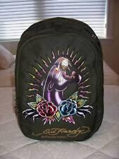 NWT Ed Hardy JOSH PANTHER GREEN KHAKI Backpack Bag