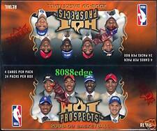 2008 08-09 HOT PROSPECTS NBA RETAIL SEALED BOX: MICHAEL JORDAN+WESTBROOK/ROSE RC