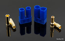 EC5 5MM Bullet Connectors Plugs Male / Female Pair with Split Head Male Bullets