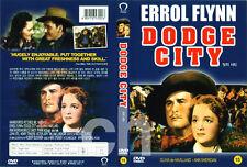 DODGE CITY (1939) - Michael Curtiz, Errol Flynn, Olivia de Havilland  DVD NEW