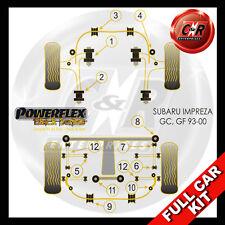 Subaru Impreza Turbo, WRX & Sti (GC,GF 93-00)  Powerflex Black Complete Bush Kit