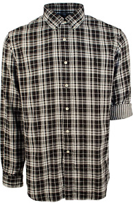 New Polo Ralph Lauren Double Face Black White Plaid Long Sleeve Shirt XL - $125