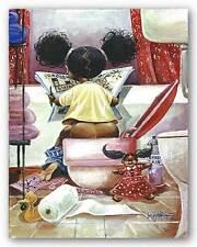 The Thinker Frank Morrison African American Art Print 8x10
