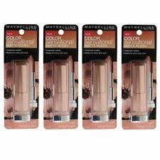 4 x Maybelline Color Sensational Lipcolour Lipstick 545 BEIGE BABE Matte Nudes