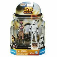 Star Wars Rebel - 2pack Figure Sabine Wren + Stormtrooper - Hasbro - Disney 10cm