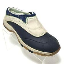 LL Bean Tek 2.5 Duck Slip Boots Waterproof US 10 Tan Blue
