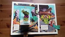 1981 Livre D'animation Pop-Up,Lee Stan présente Du Incroyable Hulk pour J.