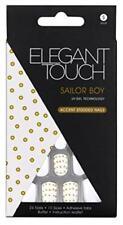 ELEGANT TOUCH False Nails - UV Gel Technology- Choose Design - 25 Nails 10 Sizes