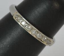 Art Deco Platinum and Diamond Stack Ring