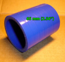 """65 mm 2.56"""" Silicone Straight Hose Coupler pipe Blue 2.56 inch"""