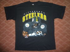 Vintage Pittsburgh Steelers Shirt by Signal Sport (c)1996 Size XL