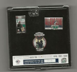 1999 MLB All Star Game Commemorative Pin Set Fenway Factory Sealed #346 of 5000