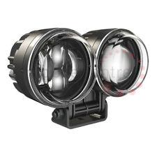 J W Speaker 0555911 90mm Motorcycle Model 93 LED Twin Headlight Pedestal Mount