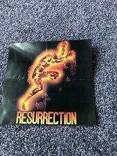 RESURECTION RAVE FLYER
