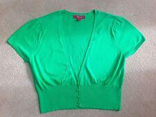 Monsoon Cotton Short Sleeve V Neck Women's Jumpers & Cardigans
