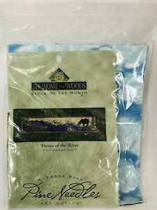 At Home in the Woods Dance of the River McKenna Ryan Art Quilt Kit w/ Fabric NIP
