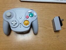 ** OFFICIAL Wavebird Grey Wireless Controller for Nintendo Gamecube -  TESTED