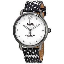 Coach Delancey White Dial Ladies Watch 14502712