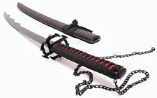 """s0462 BLEACH ICHIGO KUROSAKI TENSA ZANGETSU ZANPAKUTO SWORD BULGED BLACK 41.1"""""""