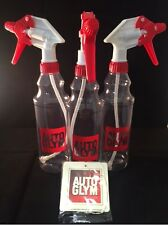 Autoglym Trigger Spray Bottles 500ml Valeting x 3 + FREE AUTOGLYM AIR FRESHENER!