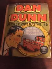 New listing Dan Dunn Secret Operative 48 And The Boarder Smugglers Big Little Book