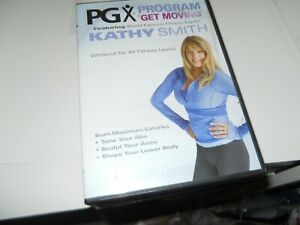 KATHY SMITH PGX PROGRAM GET MOVING WORKOUT FOR ALL FITNESS LEVEL