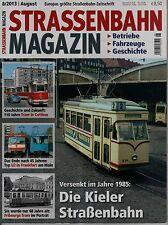 Straßenbahnverkehr Zeitschrift 8/2013 Kiel Cottbus Düsseldorf Frankfurt