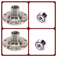 2 REAR WHEEL HUB & 2 BEARING FOR BMW 740i 740iL 750iL 840Ci 850i 850Ci M3 Z3 Z8