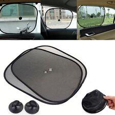 2pcs Fashion Sun Shade Car Side Rear Window Cover Visor Mesh Shield Screen