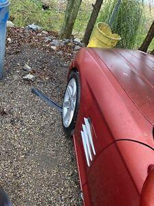 2004 2005 2006 2007 2008 Chrysler Crossfire Left Driver Side Fender Panel RED