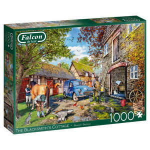 Jumbo 11333 Falcon The Blacksmith's Cottage 1000 Teile Puzzle