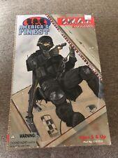 "America's Finest SWAT Team Commander Figure 1/6 scale NIB 12"" 21st century"