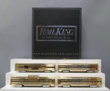 MTH 30-6707 Gold Plated Pennsylvania 4-Car Passenger Set/Box