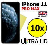 10x ULTRA CLEAR SCREEN PROTECTOR COVER GUARD FILMS FOR APPLE IPHONE 11 PRO MAX