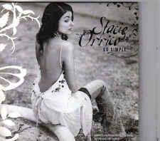 Stacie Orrico-So Simple Promo cd single