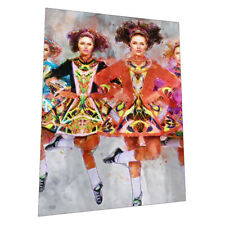 "Irish Dancers ""The Reel"" Wall Art Poster"