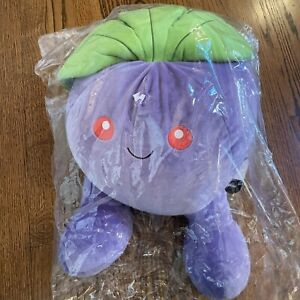 "Pokemon Center 2017 Soft Squishy Plush Oddish NEW In Plastic 15+"" Huge"