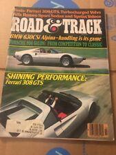 July 1978 Road & Track Magazine BMW 630CSi Alpina Ferarri 308 GTS