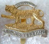 Badge- Leicestershire Regiment Cap Badge