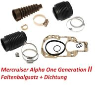 Faltenbalgsatz Mercruiser Alpha One Generation II Z-Antrieb Service-Kit Bälge