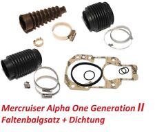 Faltenbalgsatz Mercruiser Alpha One Generation II Z-Antrieb Service-Kit Bälge