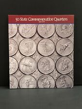 50 State Commemorative Quarters Full Map 1999-2008~Complete Set