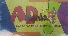 AD MANIA Game of Advertising Trivia Slogan Commercial Jingle 2-4 Players New
